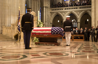 Funeral Service for President Reagan at Washington National Cathedral