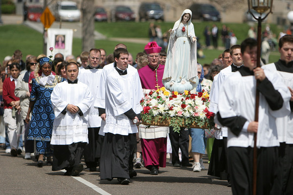 Rosary Procession - 2009