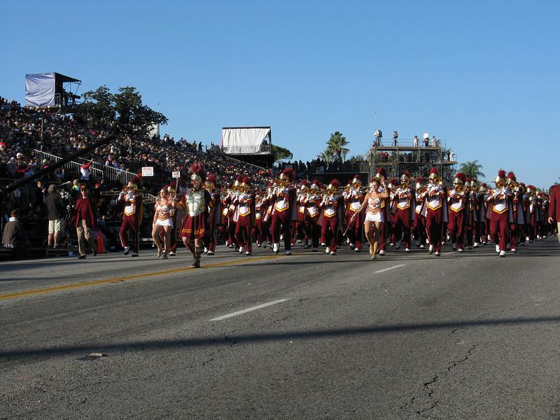 Trojan Marching Band.