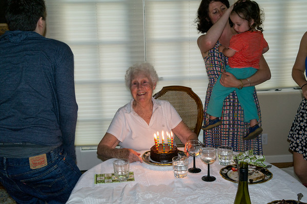 Rose's Birthday, August 2014