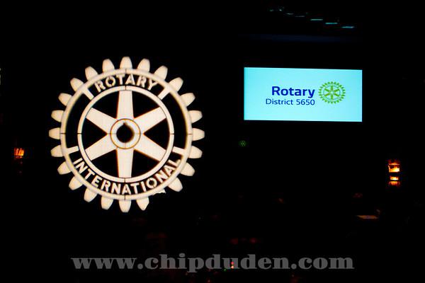 Rotary President Gary Huang Visit