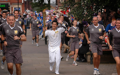 Rotherham Olympic Torch 2012