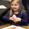 Celebration of Roudenbush Community Center reoCelebration of Roudenbush Community Center reopening after renovations. Chloe Webb-Nash, 4, of Chelmsford, colors with markers. (SUN Julia Malakie)