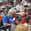 Rough Riders game, May 19, 2013. Having fun with our church family.