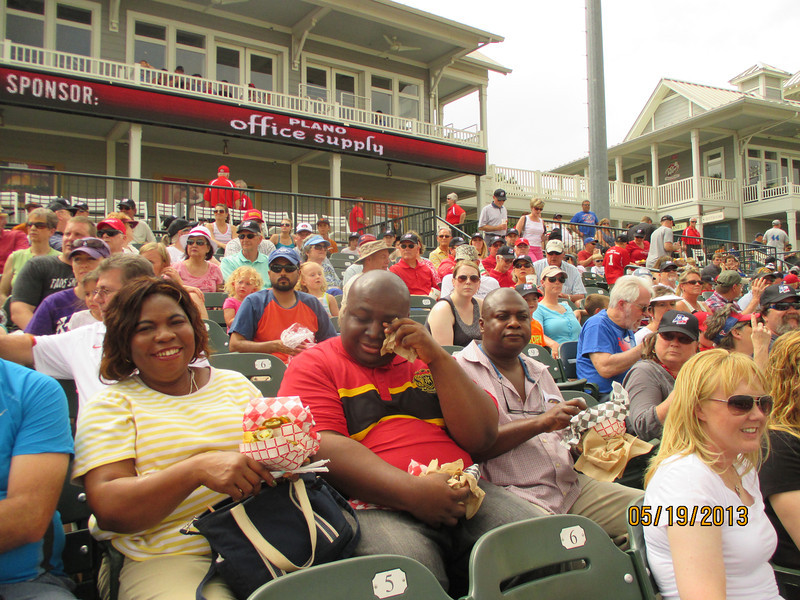 Rough Riders game, May 19, 2013