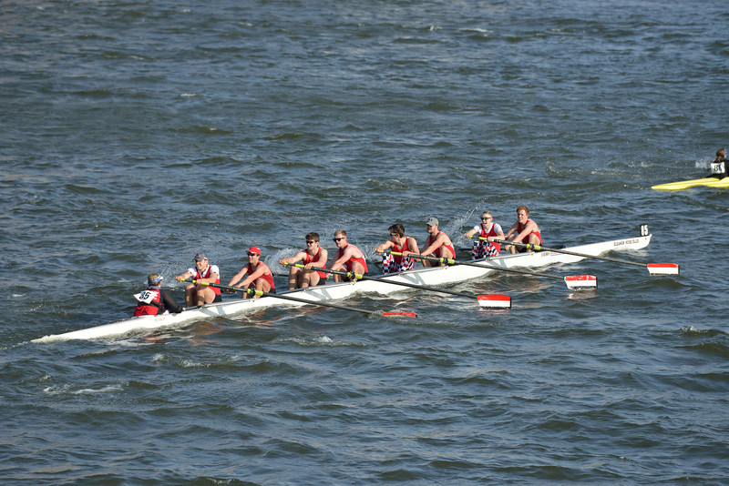 British Rowing -  Head of The River Race 2014, from Hammersmith Bridge
