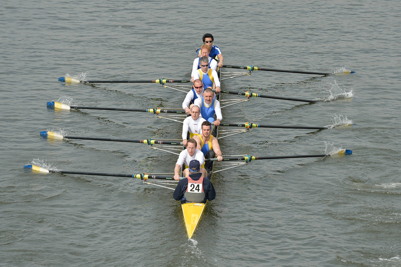 Head of the River Race 2014 - Warrington Rowing Club Veteran Eight