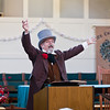 Roy Lantz performance reading of A Christmas Carol at St. Catherine's Episcopal Chrurch