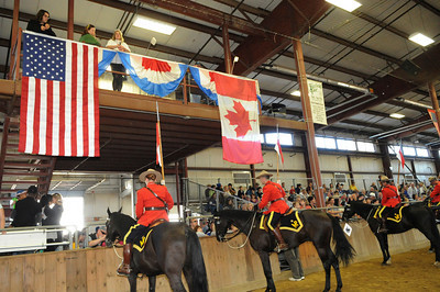 Royal Canadian Mounted Police at the Topsfield Fair, Saturday, Oct. 2, 2010 in Topsfield, MA.