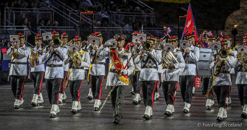 The Nepal Army Band
