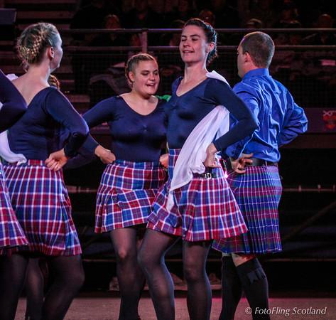 Massed Commonwealth Highland Dancers