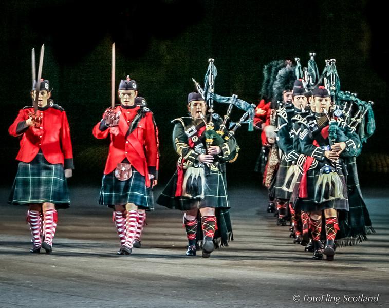 Queen Victoria School, Dunblane Centenary Performance