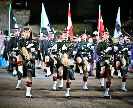 Edinburgh Military Tattoo Finale
