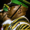 Member of the Trinidad & Tobago Defence Force Steel Orchestra