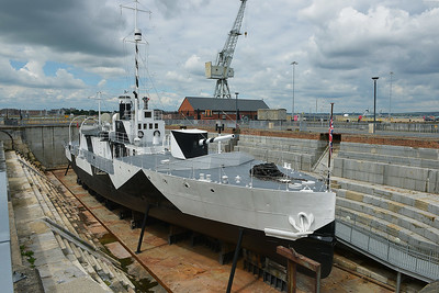 HMS M.33 at Portsmouth on 13 July 2016