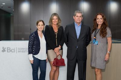 Laura Villareal, Conzuelo Barros, Eduardo Salinas, Isabel Brinck