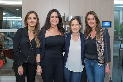 Francisca Bezmalinovic, Coco Caballero, Laura Villareal, Verónica González