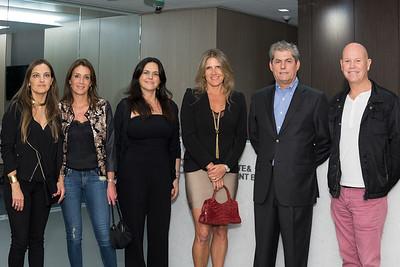 Francisca Bezmalinovic, Verónica González, Coco Caballero, Conzuelo Barros, Eduardo Salinas, Carlos Echeñique