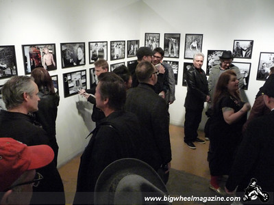 Ruby Ray photo show - Opening night at La Luz de Jesus gallery - Los Angeles, CA - February 19, 2010