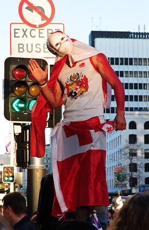 Tongan rugby fan Rugby World Cup 2011 Auckland