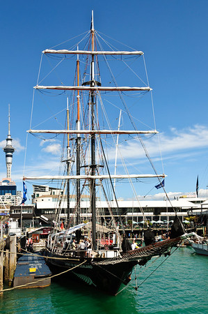 Spirit of New Zealand Viaduct Basin Auckland