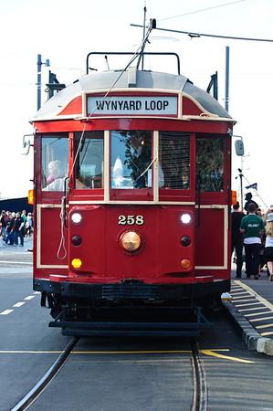 Wynyard Loop tramway Wynyard Quarters Auckland