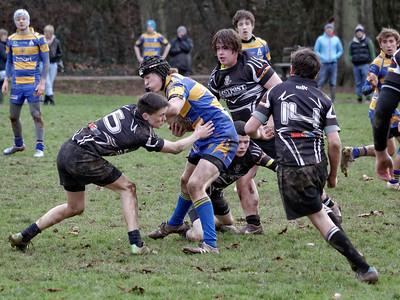 Monmouth U16 63, Cwmbran U16 8