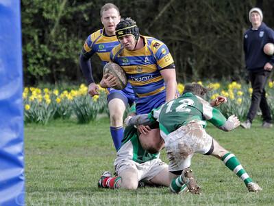 Monmouth Druids v Ebbw Vale 22-03-14