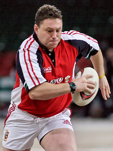 Touch Rugby at the Millennium Stadium 8th January 2005
