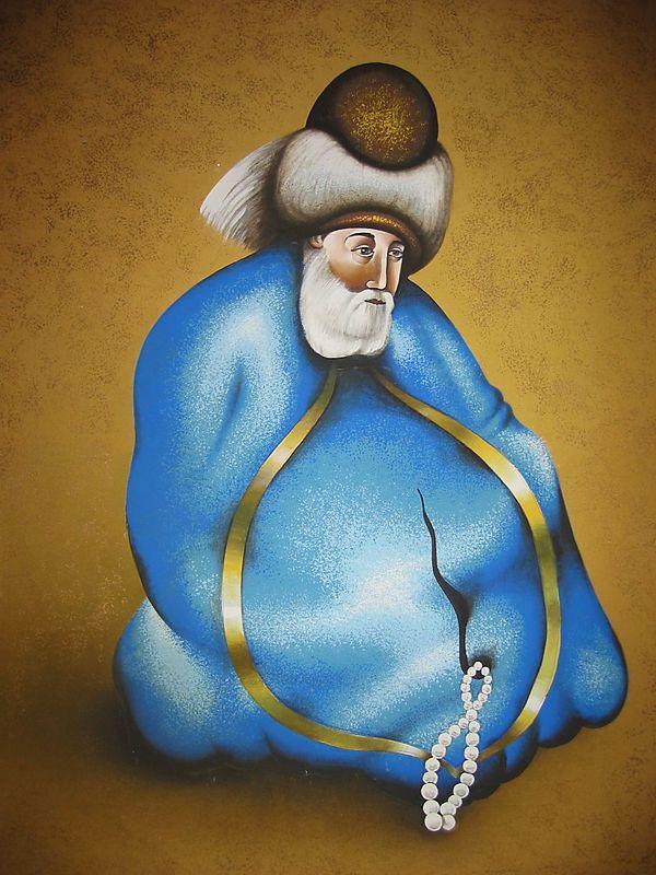 Poster of Rumi (Mevlana Jalal-e-Din Mevlavi Rumi )