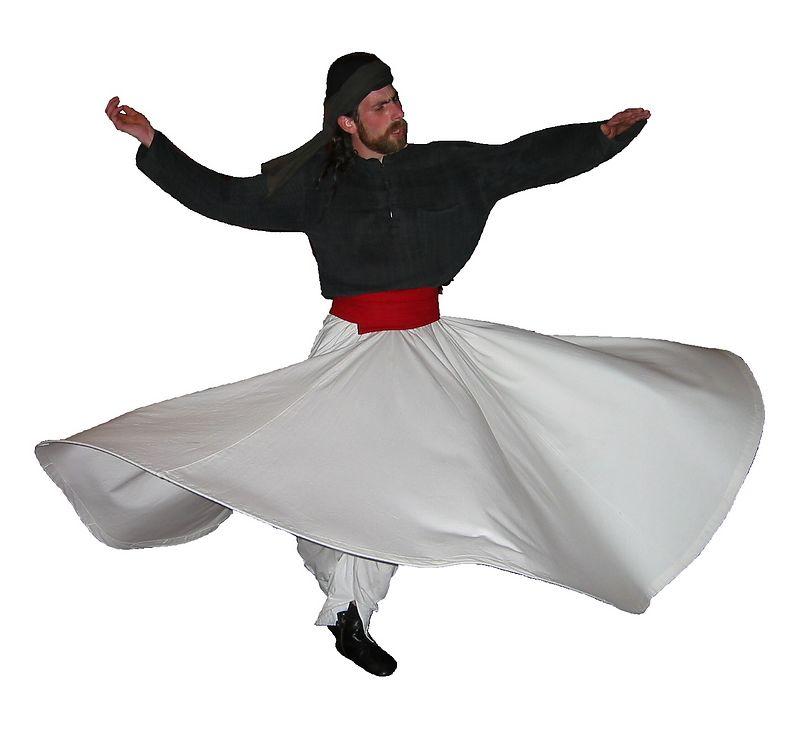 00aFavorite 20030927 Aziz Abbatiello whirling, 6th annual Rumi Festival [bg removed]