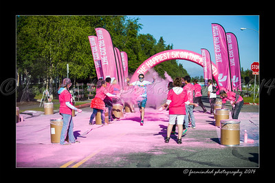 Color Run - 2014 - Pink - 815 to 829