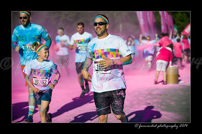 Color Run - 2014 - Pink - 830 to 844
