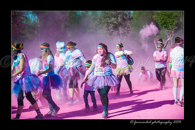Color Run - 2014 - Pink - 900 to 914