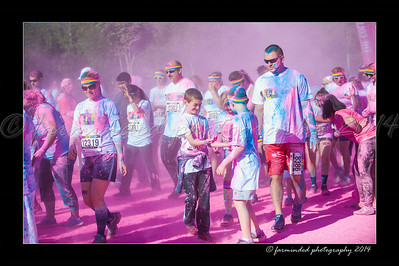 Color Run - 2014 - Pink - 915 to 929