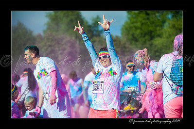 Color Run - 2014 - Pink - 930 to 944