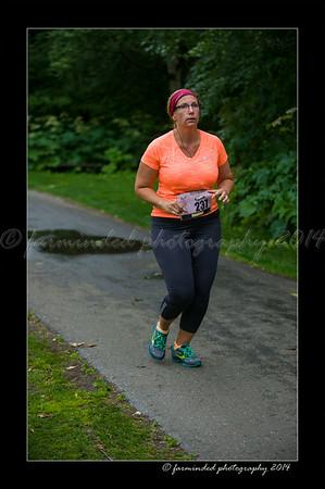Her Turn 1/2 and 1/4 Marathon - 2014