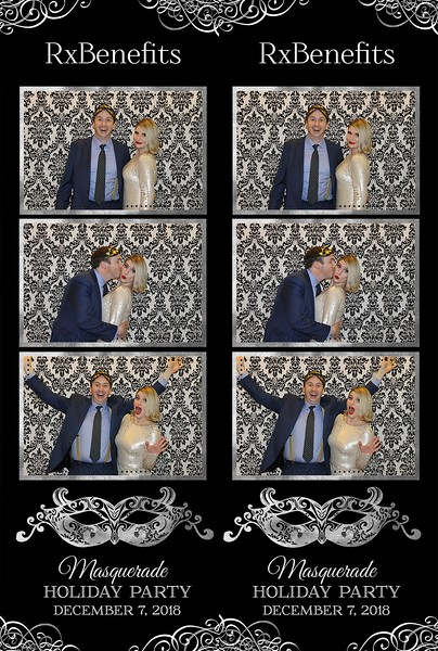 RxBenefits Masquerade Holiday Party 2018