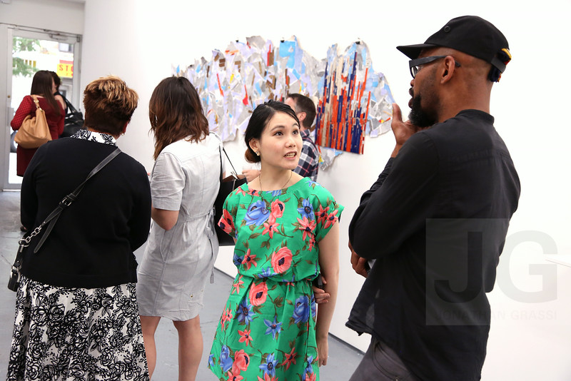 Opening for Ryan Garvey's 'Lower East Side' installation at Lynch Tham Gallery<br /> New York City, USA - 07.16.14<br /> Credit: J Grassi
