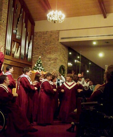 The Salvation Army Harbor Light Choir Performance - Photos taken by the Tribune Newspaper - please credit accordingly