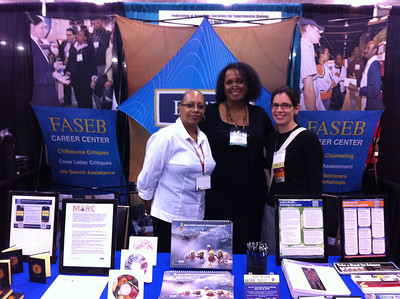 Cordelia Adams (FASEB), Jacquie Roberts (FASEB) and Dr. Michelle Juarez (UC San Diego)