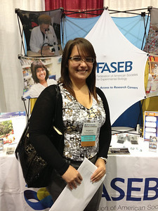FASEB MARC Student Travel Award recipient:  Angelica Rivera Gonzalez of the University of Puerto Rico, Mayaguez Campus