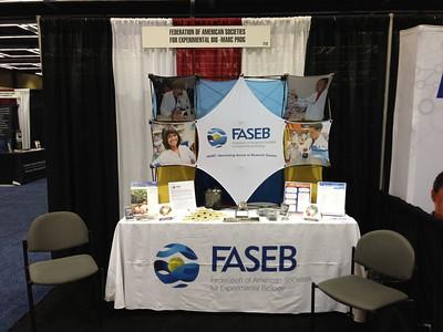 FASEB MARC Exhibit Booth at SACNAS 2012