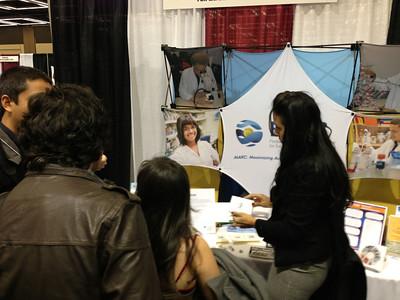 FASEB MARC Program exhibit booth at SACNAS 2012
