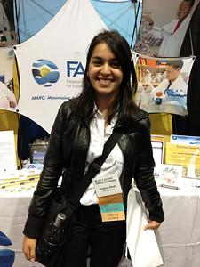 FASEB MARC Student Travel Award recipient: Nagma Shah of Brandeis University