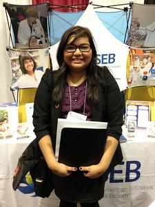FASEB MARC Student Travel Award recipient:  Krystal Garza of Brown University