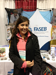 FASEB MARC Student Travel Award recipient:  Nicole Carvajal of  the University of California, Riverside