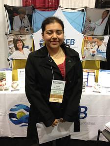 FASEB MARC Student Travel Award recipient:  Dalia Martinez-Marin of Texas Tech University