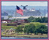 JUNE 17 - Crowds start to form at Fort McHenry, home of the Star Spangled Banner.