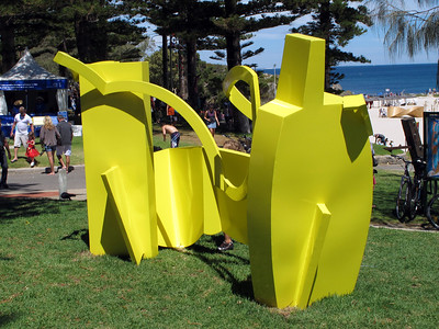 Sculptures by the sea 2013, Cottesloe Beach , Western Australia